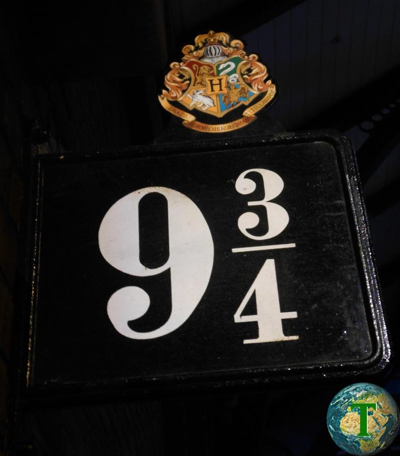 Binario 9 e 3/4 - Harry Potter Studio Tour