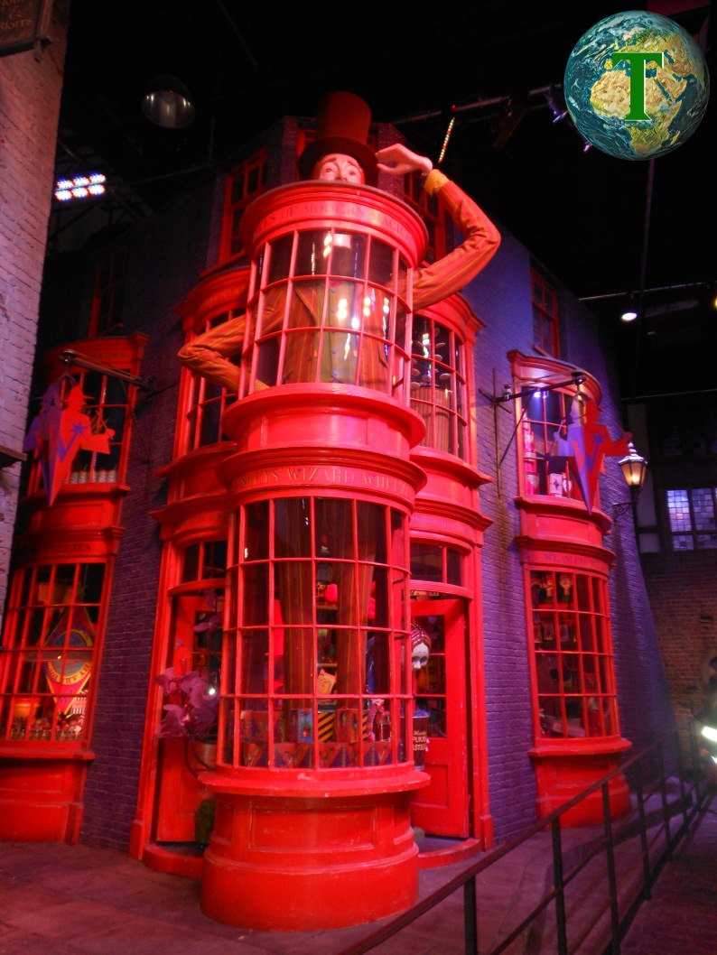 Tiri Vispi Weasley - Harry Potter Studio Tour